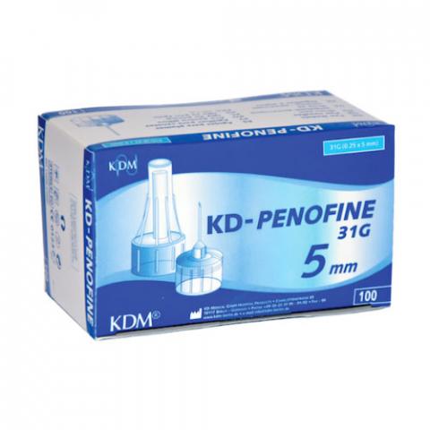 Игла для шприц-ручек KD-penofine 31G, 0.25х5 мм