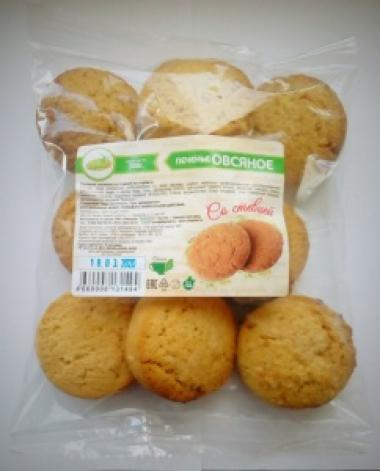 Печенье Овсяное со стевией 300 гр