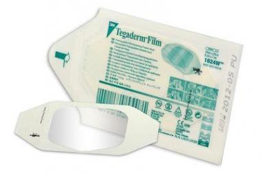 Тегадерм (Tegaderm) пластырь для фиксации и подклейки сенсоров и катетеров 6*7 см