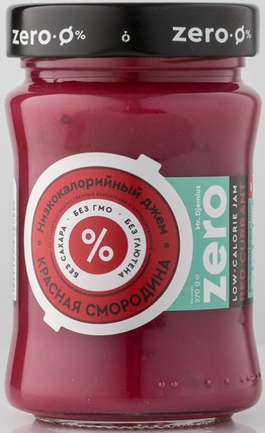 Джем низкокалорийный ZERO Красная смородина, 270 г