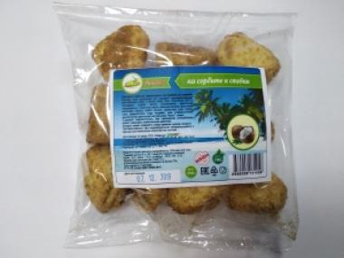 Печенье Кокосанка с стевией и эритритом 200 гр