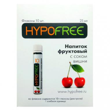 HYPOFREE Напиток фруктовый с соком вишни №10