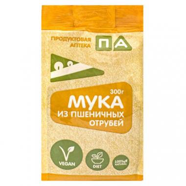 """Мука из Пшеничных отрубей """"Продуктовая Аптека"""", 300 г"""