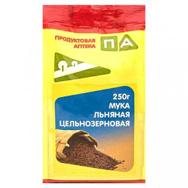 Мука Льняная цельнозерновая Продуктовая Аптека, 250 г