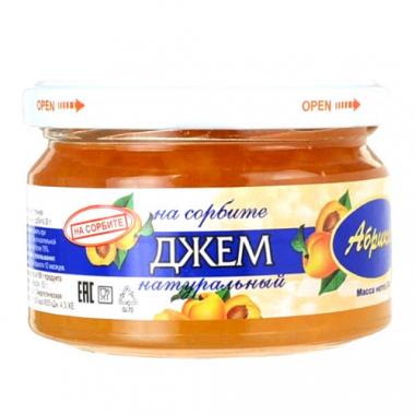 Джем абрикосовый на сорбите Петродиет, 240 г