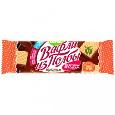 Вафли из полбы, Шоколад без сахара, 15 г