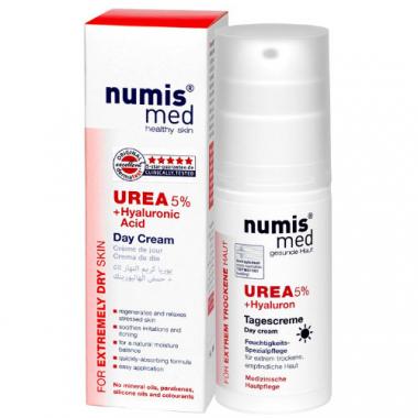 Нумис Мед Крем дневной с 5% мочевины и гиалуроновой кислотой, 50 мл