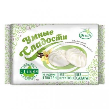 """Зефир ванильный """"Умные сладости"""" со стевией, 150 г"""