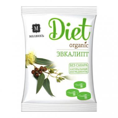 "Леденцы ""DIET ORIGINAL"", Эвкалипт, 50 г"