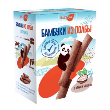 Бамбуки из полбы с шоколадом, 200 г