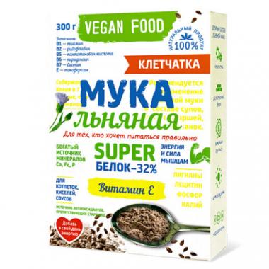 Льняная мука Vegan Food, 300 г