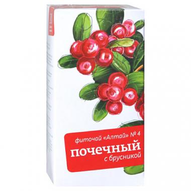 Фиточай Алтай №4 почечный с брусникой ф/п №20