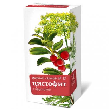 Фиточай Алтай №28 Цистофит с брусникой ф/п №20