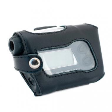Кожаный чехол А-4 для инсулиновой помпы Акку Чек, черный