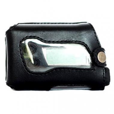 Кожаный чехол А-2 для инсулиновой помпы Акку Чек, черный