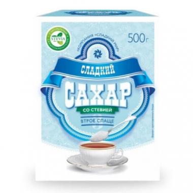 Сладкий сахар со стевией 500 г