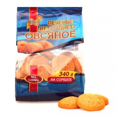 Печенье Овсяное  на сорбите, 340 г