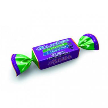 Конфеты желейные со стевией с сорбитом Черная смородина, 200 г