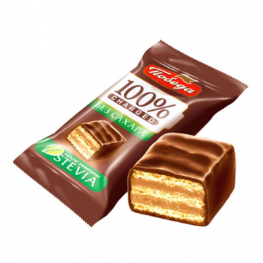 """Конфеты вафельные в молочном шоколаде без сахара """"Чаржед"""", 200 г"""