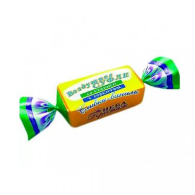 Конфеты Воздушное суфле со стевией с сорбитом Сливки-Ваниль, 200 г