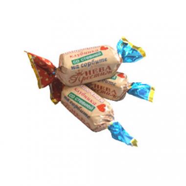 Конфеты Сливочная Клубника на сорбите со стевией, 200 г