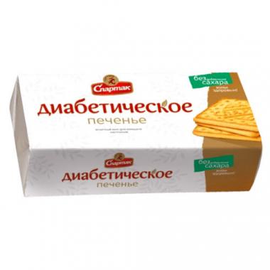 """Печенье диабетическое """"СПАРТАК"""" с сорбитом, 100 г"""