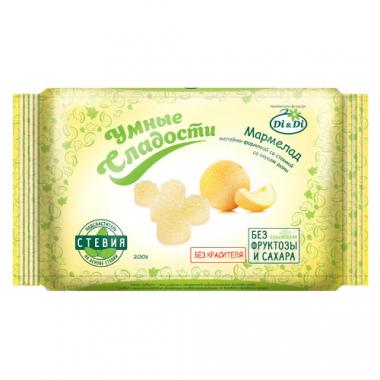 Мармелад без сахара «Умные сладости» желейно-формовой «Дыня», 200 г