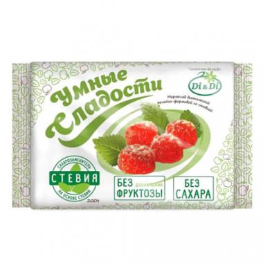 """Мармелад желейно-формовой со стевией """"Умные сладости"""", 200 г"""