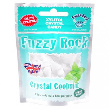 Кристаллы ксилитола Fuzzy Rock с мятой, 22 г