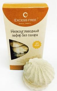 Низкоуглеводный зефир без сахара Крем-Брюле
