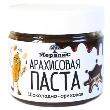 """Арахисовая паста """"Шоколадно-ореховая сладкая"""""""