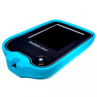Силиконовый чехол для Freestyle Libre, голубой