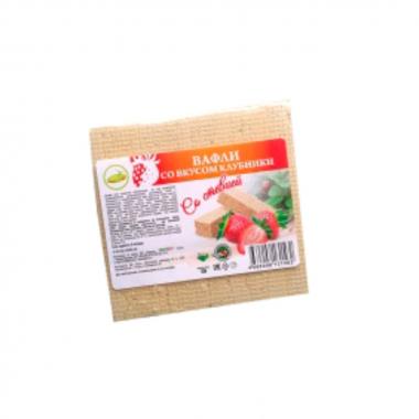 Вафли Клубника со стевией 120 гр