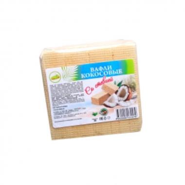 Вафли кокосовые со стевией 120 гр