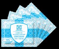 Салфетка антисептическая спиртовая, 135х185 №120