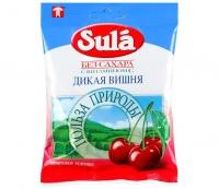 Леденцы SULA без сахара Дикая вишня 60 гр.